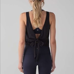 Lululemon Its A Tie Tank -Black